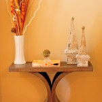 Accent Table in Dining Room