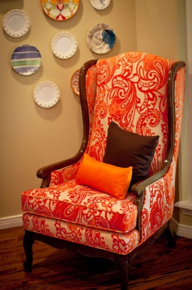 My New Favorite Upholstered Chair