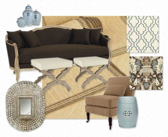 Callie's Living Room Design Board