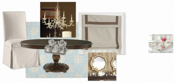 Callies Dining Room Inspiration Board