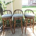 Vintage Bamboo Barstools $175 Set