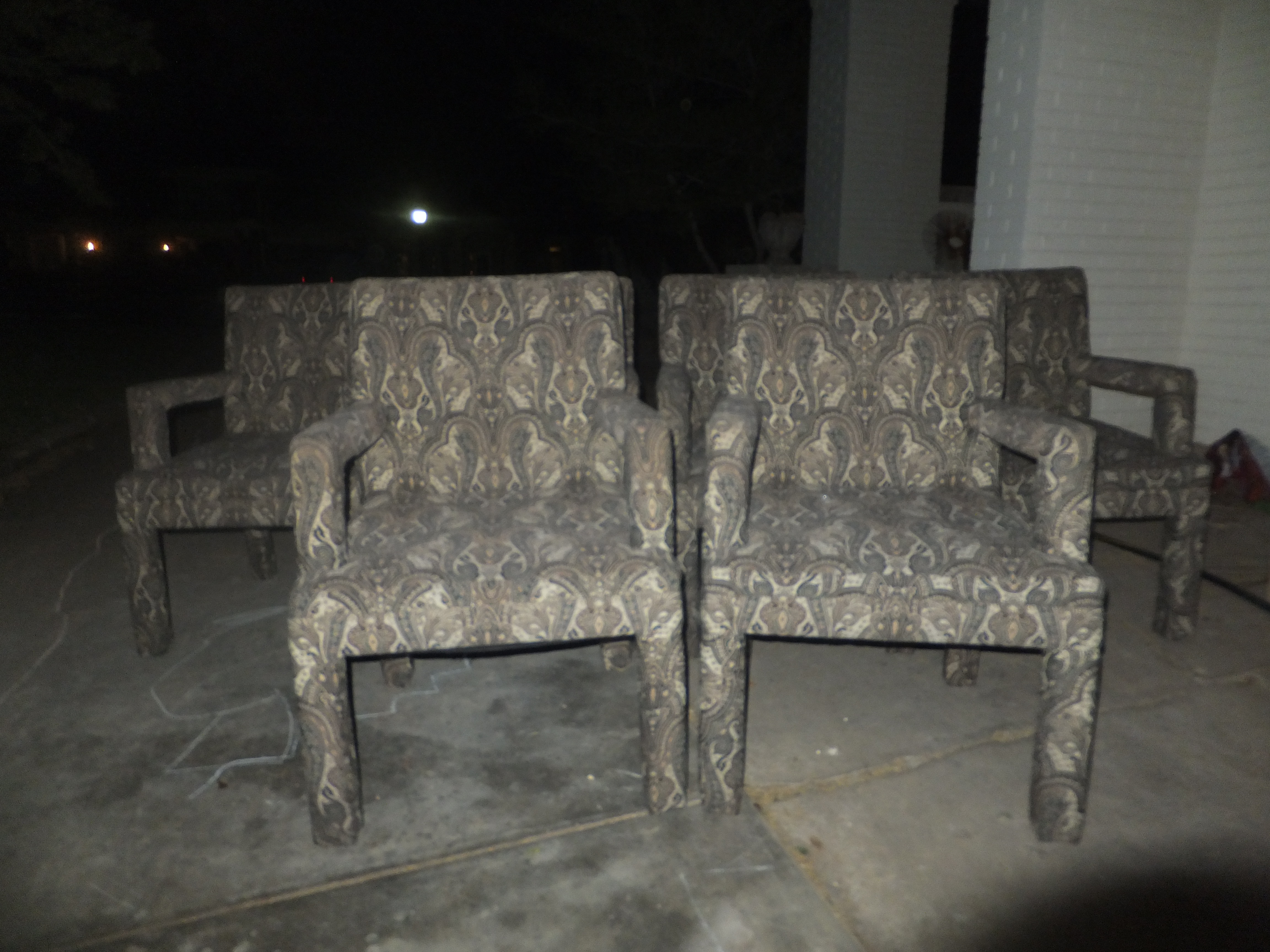 Vintage Milo Baughman For Thayer Coggin Style Chairs, Set Of SIX U2013 $125 A  Pair, $300 For The Set