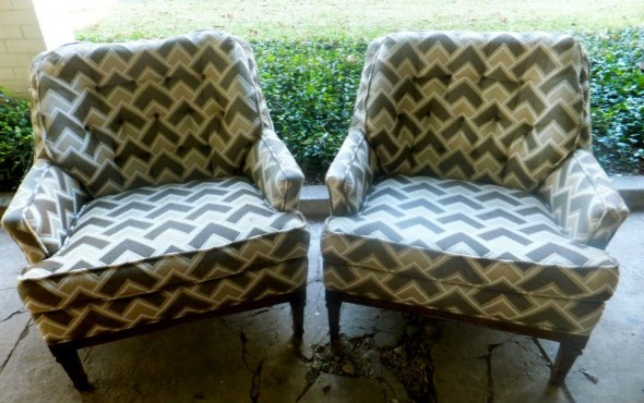 Pair of Amazing Chairs! Still at Graces house for now :) (See you need to check Facebook too!)